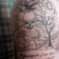immagini-foto-tatuaggi-teschio-cimitero