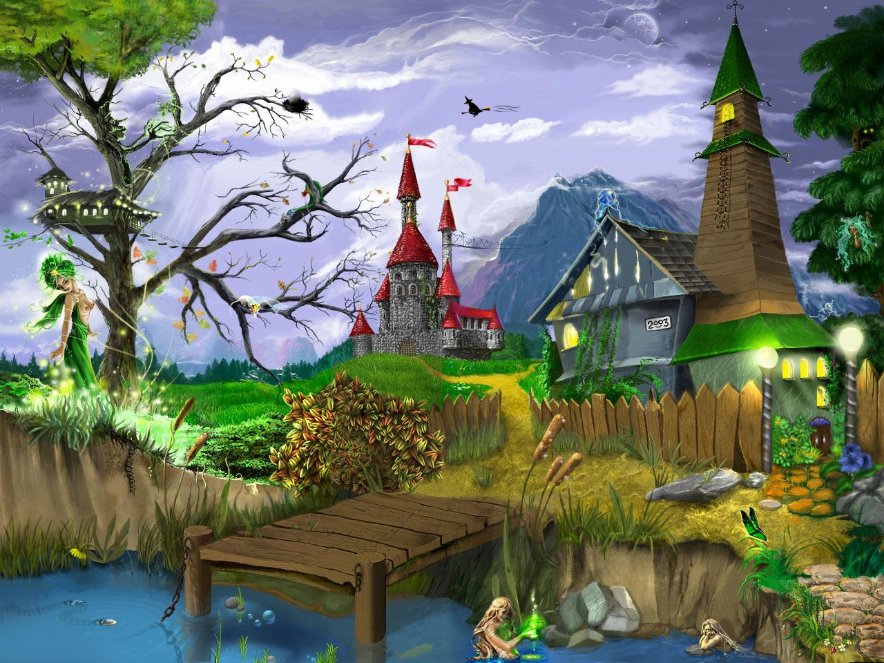 Immagini e foto paesaggi immagini paesaggi sfondi 2 for Paesaggi fantasy immagini