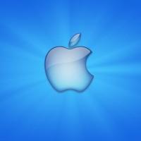 immagini-sfondi-ipad-apple-mela-azzurra