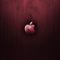 immagini-sfondi-ipad-apple-rosso