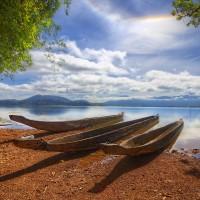 immagini-sfondi-ipad-paesaggio-canoe