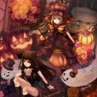 immagini-sfondi-ipad-manga-halloween